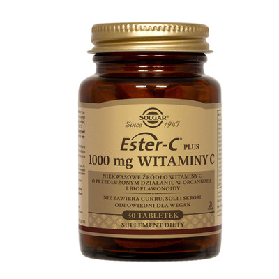SOLGAR Ester C-Plus witamina C (1000 mg) 30 tabletek